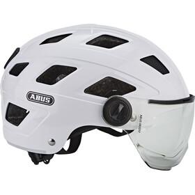ABUS Hyban+ Kypärä, cream white, clear visor